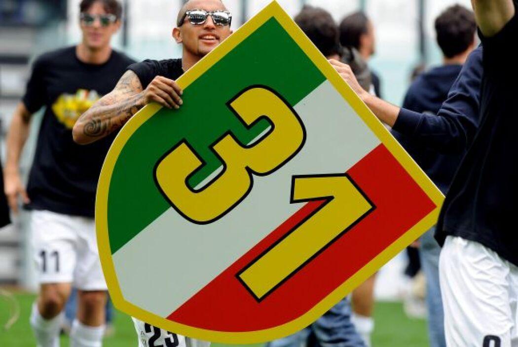 El hombre de la Juventus logró de penalti el tanto con el que la 'Vecchi...