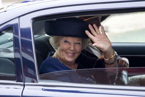 """Conocida como la """"Princesa sonrisa"""", Beatriz de Holanda se cas..."""