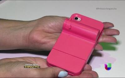 Teléfonos celulares ahora también pueden servir como defensa personal