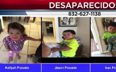 Sigue vigente la alerta Amber emitida por la desaparición de tres niños...