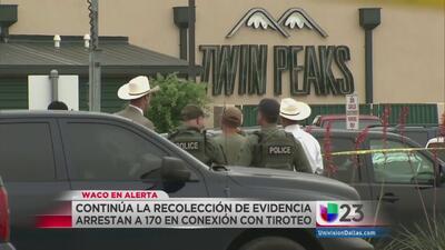 Arrestan a 170 pandilleros por tiroteo en Waco