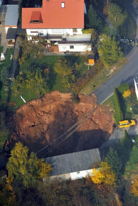 Según testimonios de los residentes de este céntrico lugar de  Alemania,...