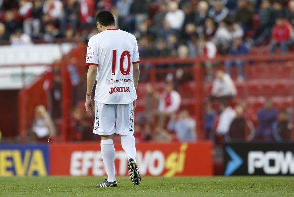 Riquelme jugó de enganche durante su carrera, una posición...