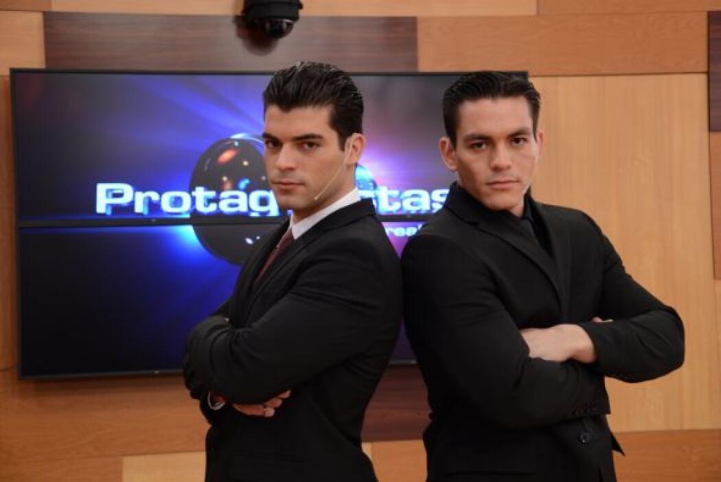 Adrián, de Cuba y Jonathan, de México, dos participantes en potencia.