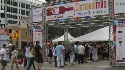 Con el Carnival on the Mile, comienza una semana de festividades en Miami