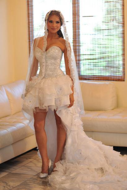 La diseñadora Rosita Hurtado fue la encargada de confeccionarlo.