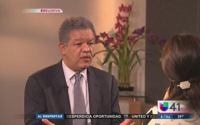 Leonel Fernández llama a evitar los conflictos internos en el gobierno d...