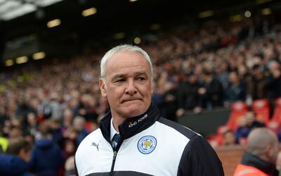El entrendor de los 'Foxes' Claudio Ranieri es realista.