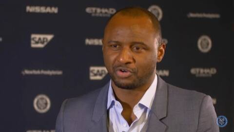 Patrick Vieira quiere revolucionar al New York City FC con fútbol ofensivo