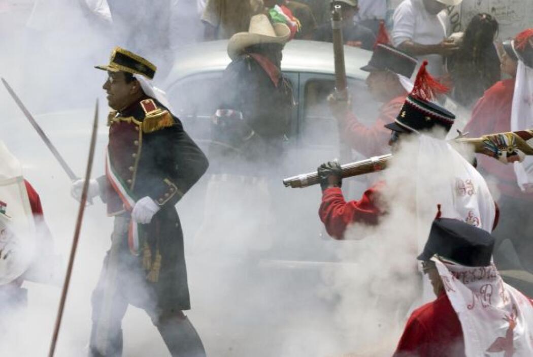 Suele haber recreaciones de aquella batalla en el mismo estado de Puebla.