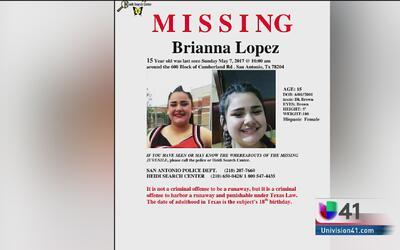Familia de San Antonio pide ayuda de la comunidad para encontrar a una a...