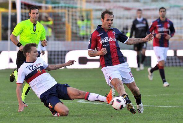 Bolonia y Genoa disputaron otro duelo de esta jornada.