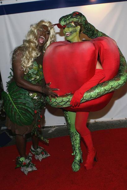 Heidi Klum y Seal aman Halloween