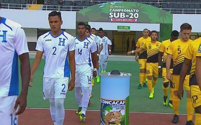 Honduras goleó 4-1 a Antigua y Barbuda en el Premundial sub 20