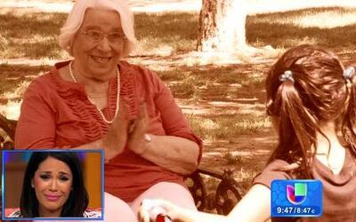 Andrea, la abuelita de Karla Martínez, compartió secretos de su famosa n...