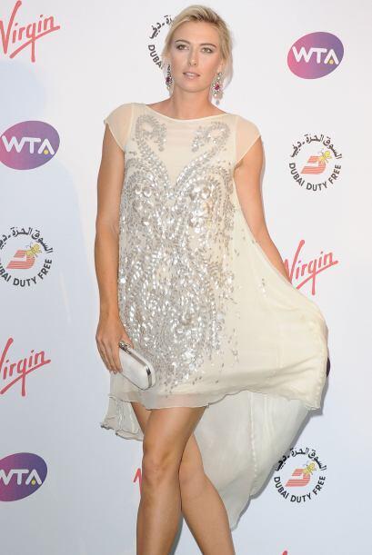 Por su parte, María Sharapova partía como la máxima...