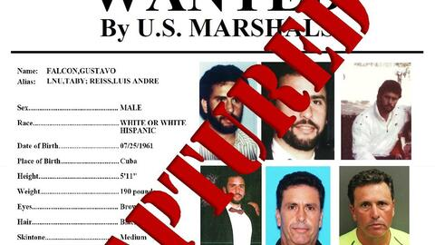 Gustavo Falcon wanted poster