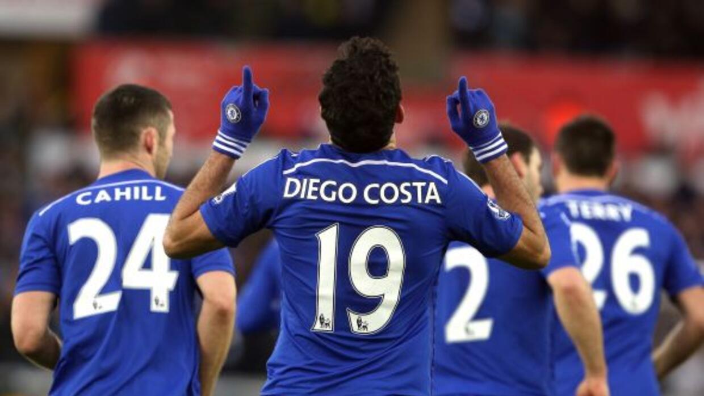 Diego Costa volvió a marcar un doblete para impulsar la victoria 'blue'.