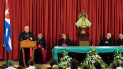 El cardenal Jaime Ortega elogió el impulso oficial al nuevo seminario ca...