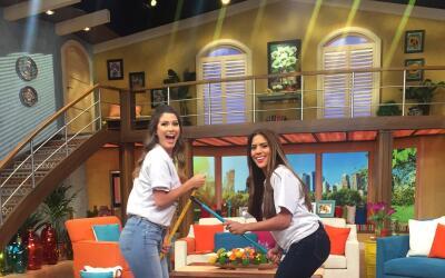 Ana Patricia y Francisca barren