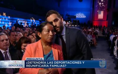 """""""Basta"""": Hillary Clinton se pronuncia de nuevo contra Trump, en español..."""