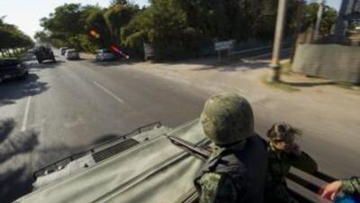 En Sinaloa se producen importantes cantidades de marihuana, es ruta de t...