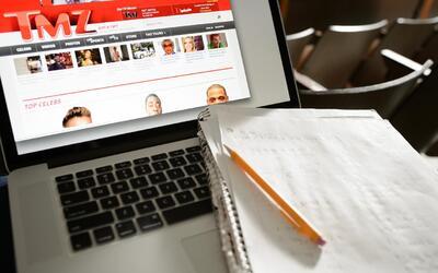 Los estudiantes pasaron 37 minutos en promedio navegando la red en vez d...