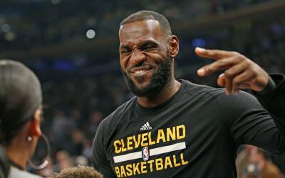 LeBron James se desbordó este miércoles con 25 puntos