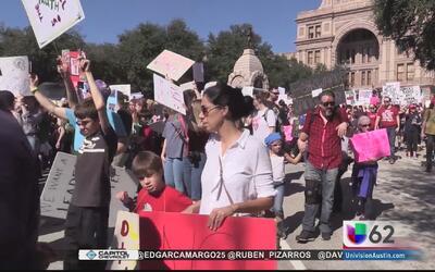 La Marcha de Mujeres, un acto simbólico en la historia de Texas