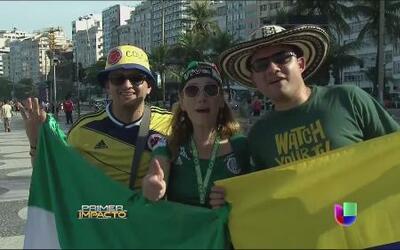 Comienza la fiesta en Brasil aunque todavía no comienza el Mundial
