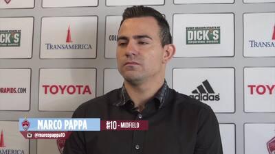 """Marco Pappa en Colorado Rapids: """"Es un gran desafío"""""""
