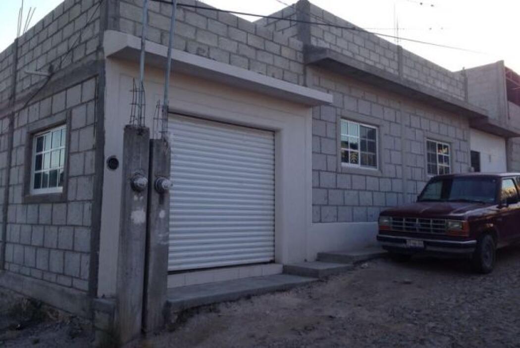 Esta casa está ubicada en la calle Prolongación Puebla de la colonia Las...