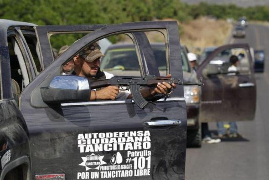 El Gobierno mexicano insistió que los grupos de autodefensa que han surg...