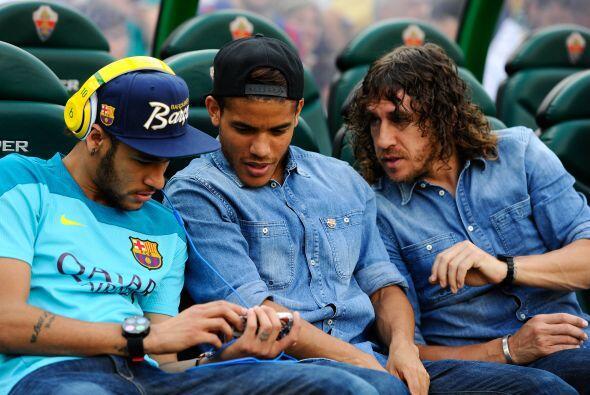 Ese otro equipo es el Barcelona, que con muchos jugadores fuera por lesi...