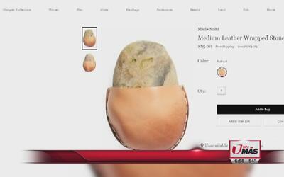 Venden piedra por $85
