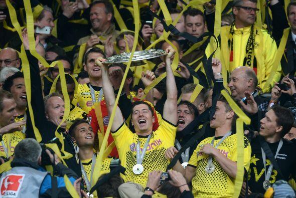 Borussia Dortmund festejó su bicampeonato en la 'bundesliga'  con...