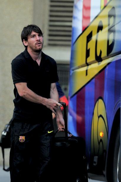 Lio Messi, carta de gol en el equipo 'culé', siempre cauteloso a la hora...