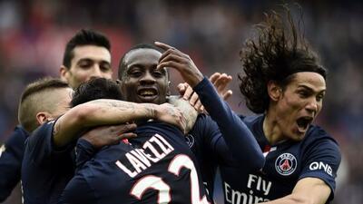 El París Saint-Germain aplastó 6-1 al Lille y ya es líder en la Ligue 1.