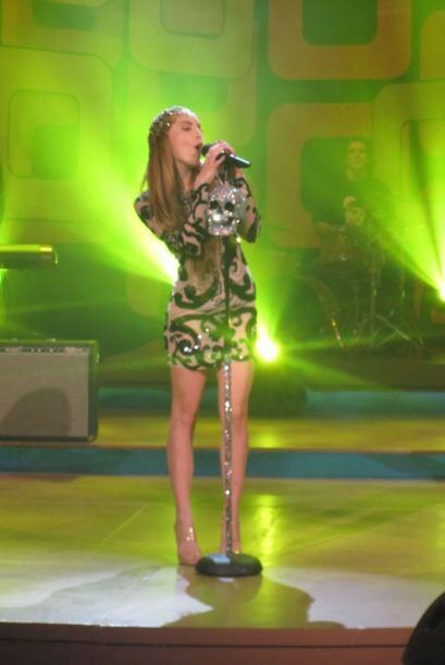 Belinda conmoverá al público con su voz y talento.