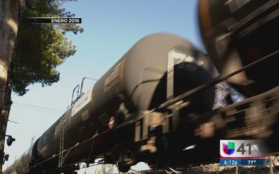 Ley busca reducir riesgos con trenes que transportan combustible