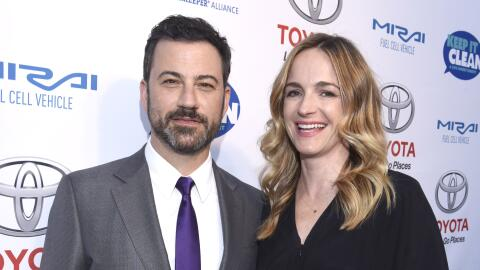 Jimmy Kimmel y Molly McNearney