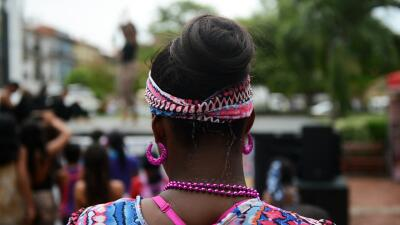 Persona de descendencia africana.