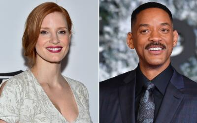 Jessica Chastain y Will Smith