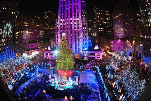 La gran ceremonia, finalmente da la bienvenida a la Navidad de la manera...