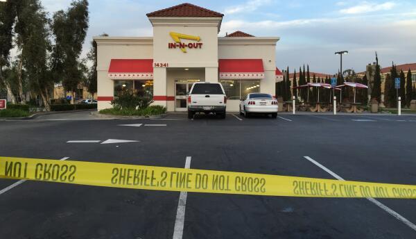 Restaurante In-N-Out de La Mirada donde asesinaron a Josefina Alcocer.