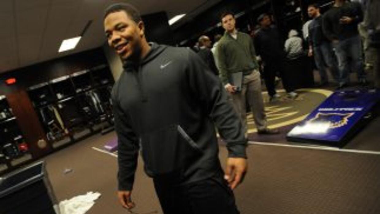 Ray Rice no tuvo una buena temporada en el 2013 (AP-NFL).