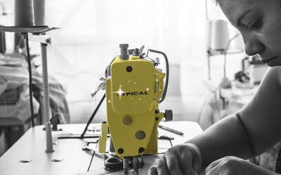 In Colombia, former rebel fighters are becoming seamstresses.
