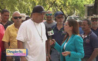 """Grueros se manifiestan en rechazo del servicio de seguridad """"Proyecto Se..."""