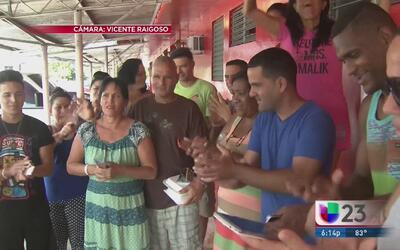 Cubanos en Panamá dan las gracias pero piden seguir su camino