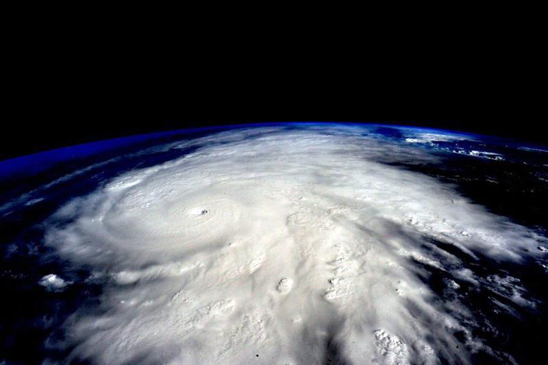 Así se ve Patricia desde el espacio. La imagen es del astronauta estadou...